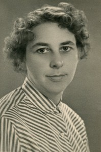 Marta Hillers 1953